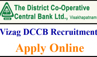 Visakhapatnam Cooperative Bank Recruitment 2018 | Apply Online For Vizag DCCB 61 Staff Nurse & Assistant Clerk Job Vacancies @vizagdccb.org.in