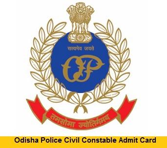 Odisha Police Admit Card