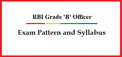 RBI Grade B Syllabus