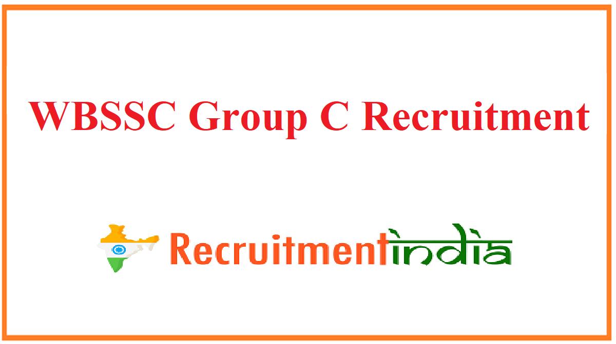 WBSSC Group C Recruitment