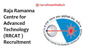 RRCAT Recruitment 2018