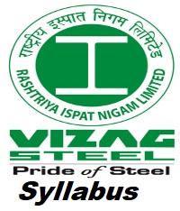 Vizag Steel Plant Syllabus