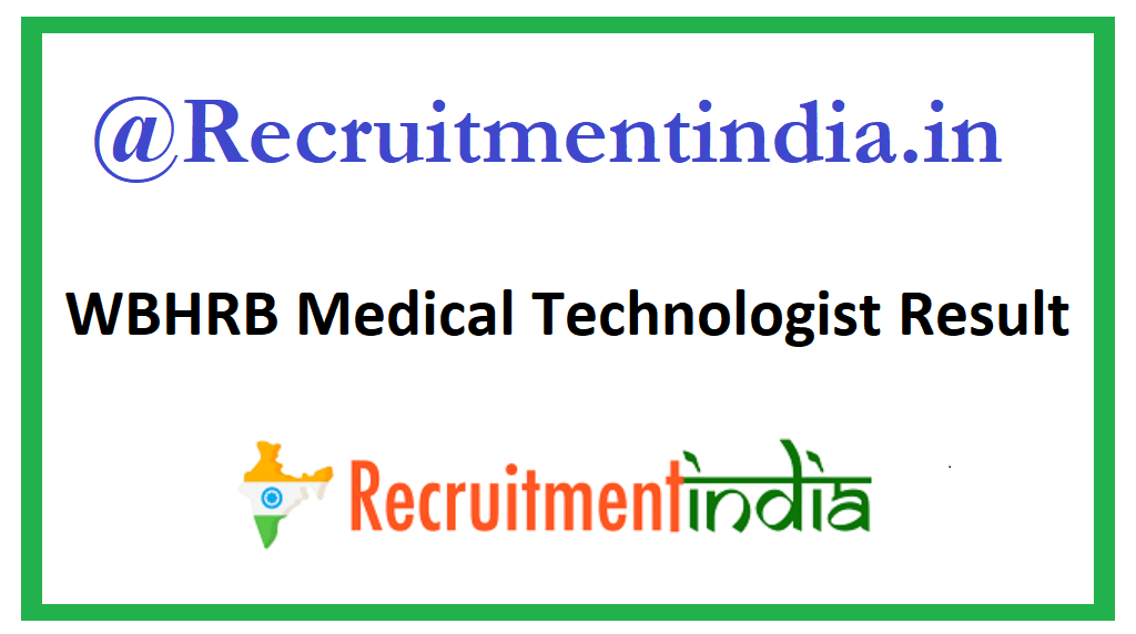 WBHRB Medical Technologist Result