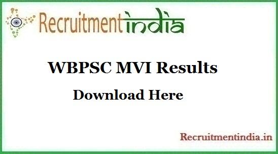 WBPSC MVI Results