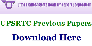 UPSRTC Conductor Previous Papers
