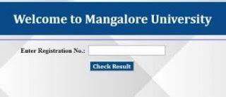 Mangalore University Result