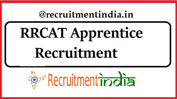 RRCAT Apprentice Recruitment
