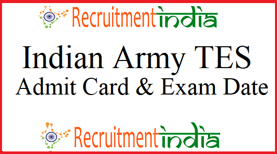 Indian Army TES Admit Card