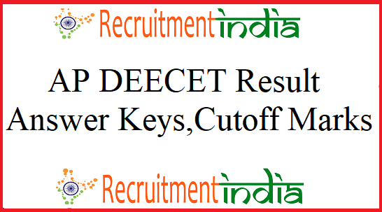 AP DEECET Results 2019 (Released) DIETCET Counseling Dates