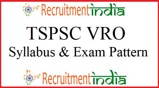 TSPSC VRO Syllabus