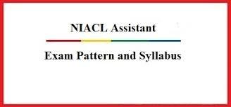 NIACL Syllabus