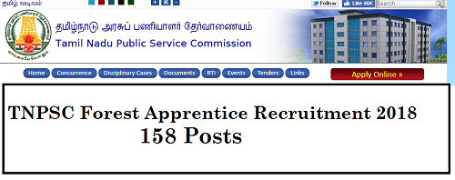 TNPSC Forest Apprentice Notification