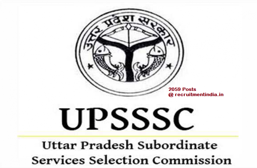 UPSSSC Agriculture Service Recruitment