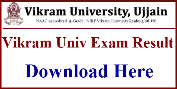Vikram University Result