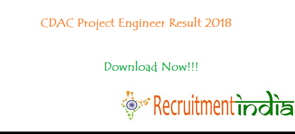 CDAC Project Engineer Result