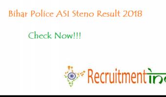 Bihar Police ASI Steno Result