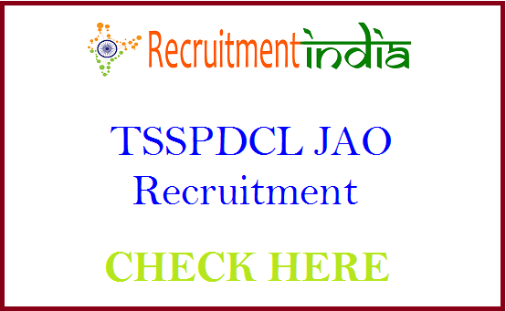 TSSPDCL JAO Recruitment
