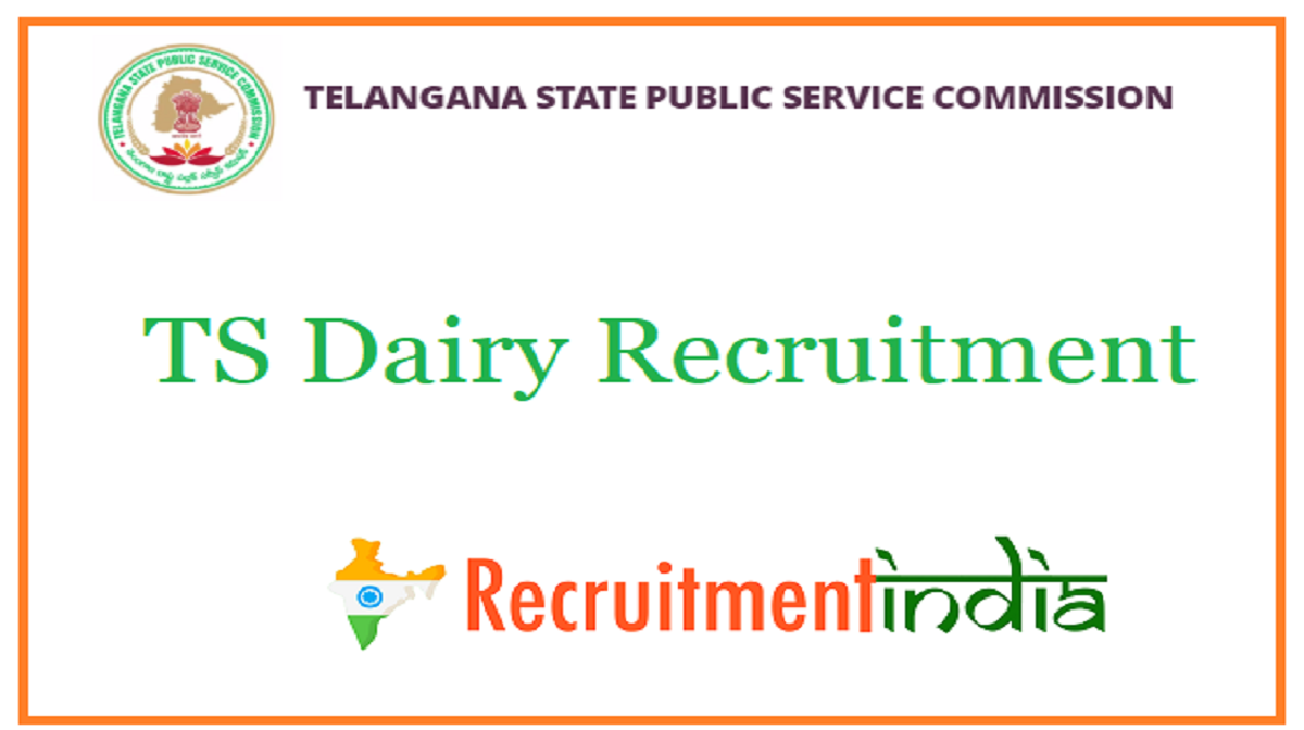 TS Dairy Recruitment