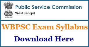 WBPSC SI Syllabus