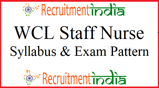 WCL Staff Nurse Syllabus