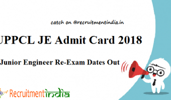 UPPCL Office Assistant Admit Card 2018 | Check Stenographer Grade Exam Dates