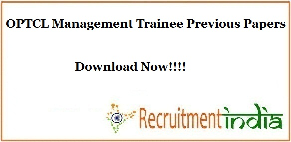 OPTCL Management Trainee Previous Papers