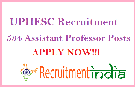 UPHESC Assistant Recruitment