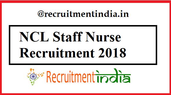 NCL Staff Nurse Recruitment