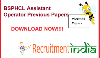 BSPHCL Assistant Operator Previous Papers | Check Switch Board Operator, Jr Lineman & Technician GR-IV Model Papers @ bsphcl.bih.nic.in