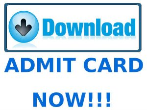PMC Apprentice Admit Card