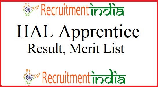 HAL Apprentice Result