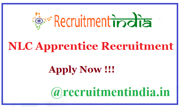 NLC Apprentice Recruitment