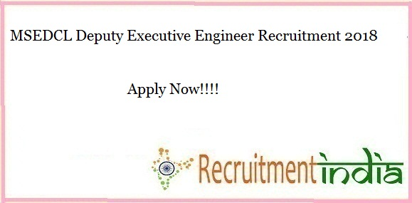 MSEDCL Deputy Executive Engineer Recruitment