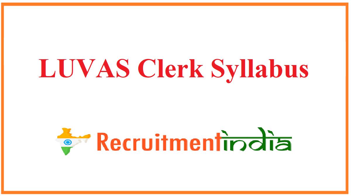 LUVAS Clerk Syllabus