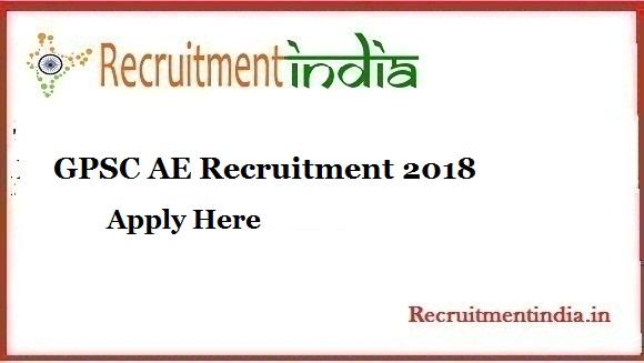 GPSC AE Recruitment
