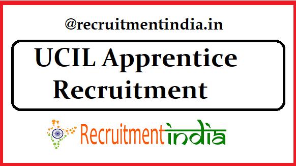 UCIL Apprentice Recruitment