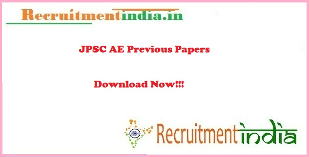 JPSC AE Previous Papers