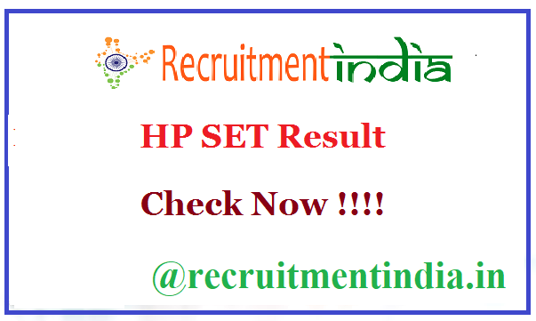 HP SET Result 2019 | OUT HP State Eligibility Test Answer Keys