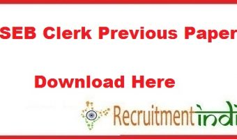 PSEB Clerk Previous Papers