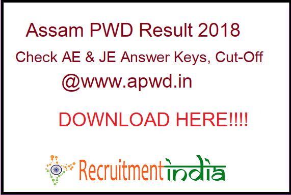 Assam PWD Result