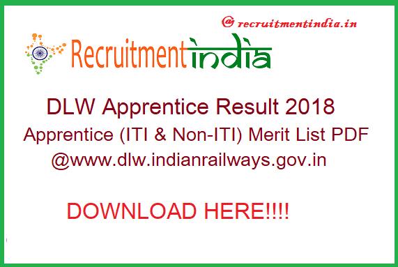 DLW Apprentice Result