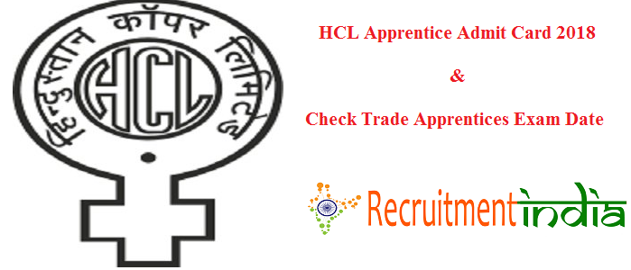 HCL Apprentice Admit Card