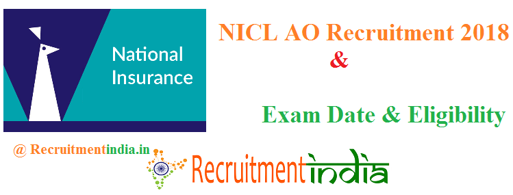 NICL AO Recruitment