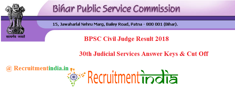 BPSC Civil Judge Result