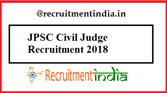 JPSC Civil Judge Recruitment