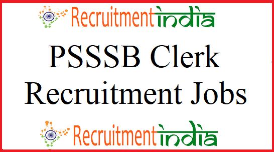 PSSSB Clerk Recruitment