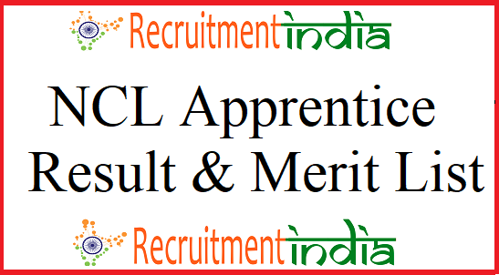 NCL Apprentice Result 2019 | Merit List, DV Dates
