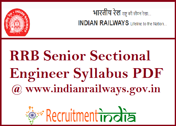 Rrb Recruitment Syllabus Pdf