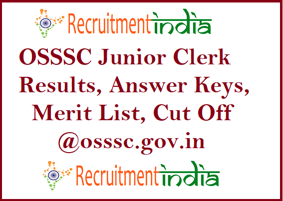 OSSSC Junior Clerk Results