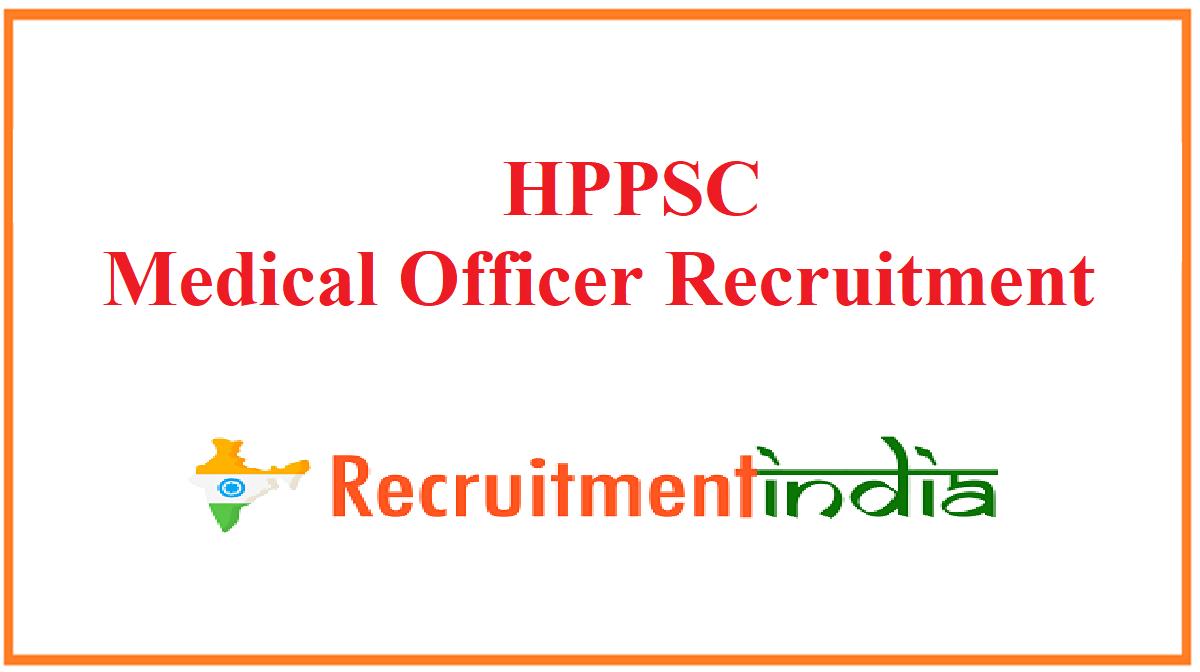 HPPSC Medical Officer Recruitment